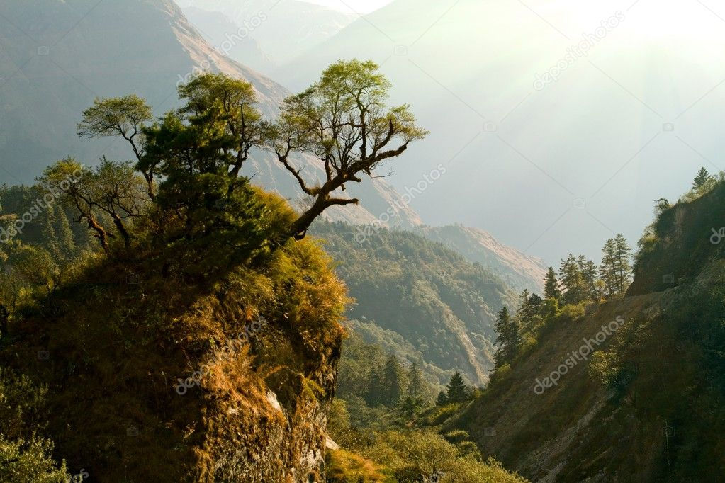enchanted Nepal landscape