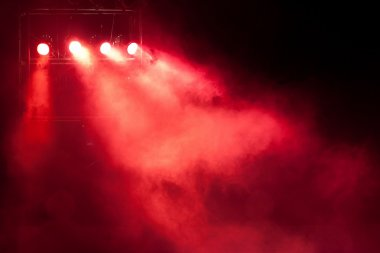 stage red spot light