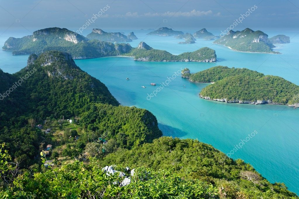 ko angthong islands in thailand