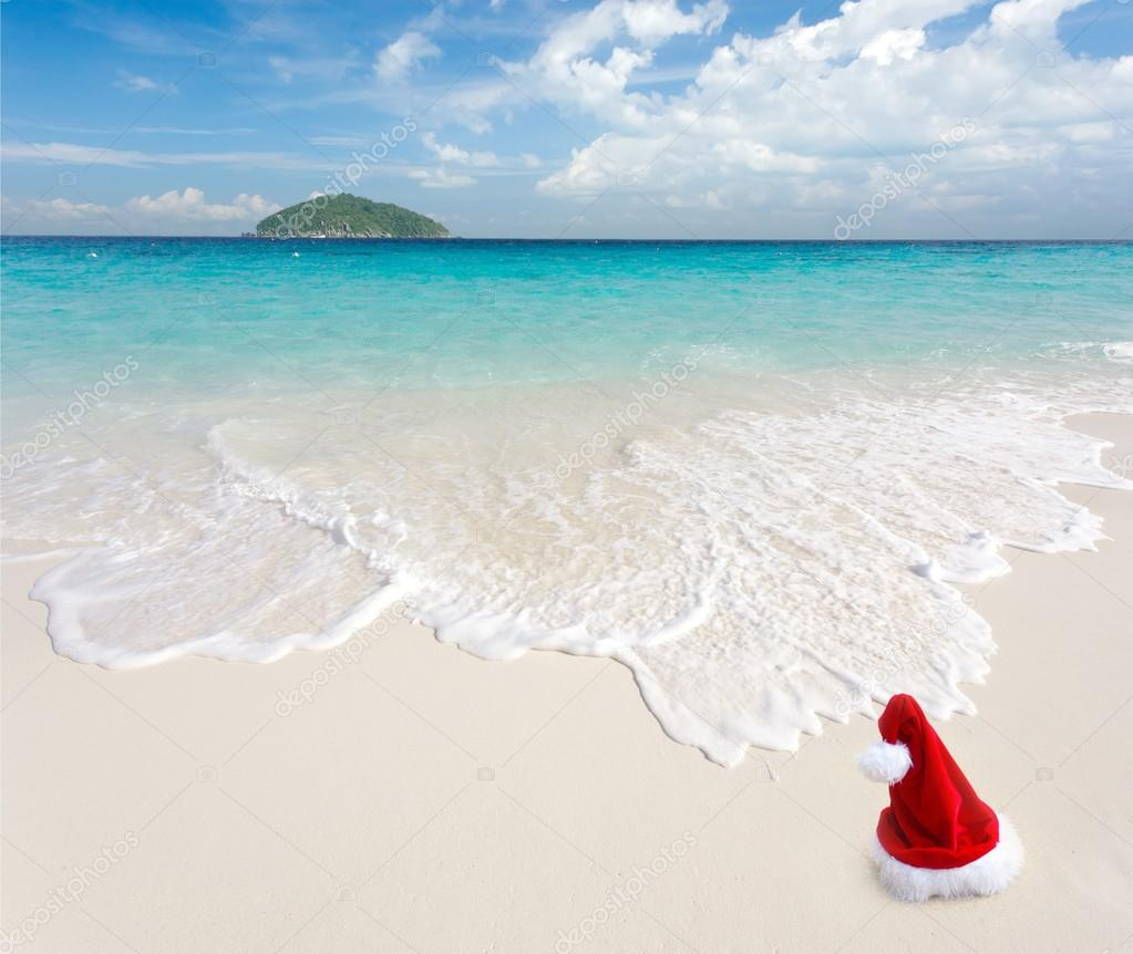Christmas at beach