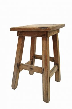 Old Chinese wooden chair
