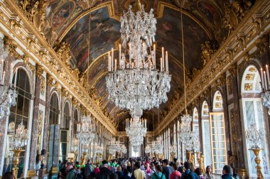 Hall of mirrors, Versailles, Paris, France