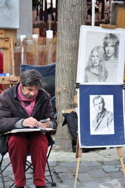 Artist at Montmartre, Paris, France