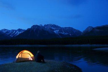 Lit Tent