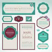 sada svatební pozvánky