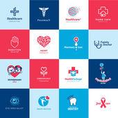 sada ikon lékařských a zdravotnických