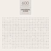 Fotografia Set di icone universali per il web e mobile