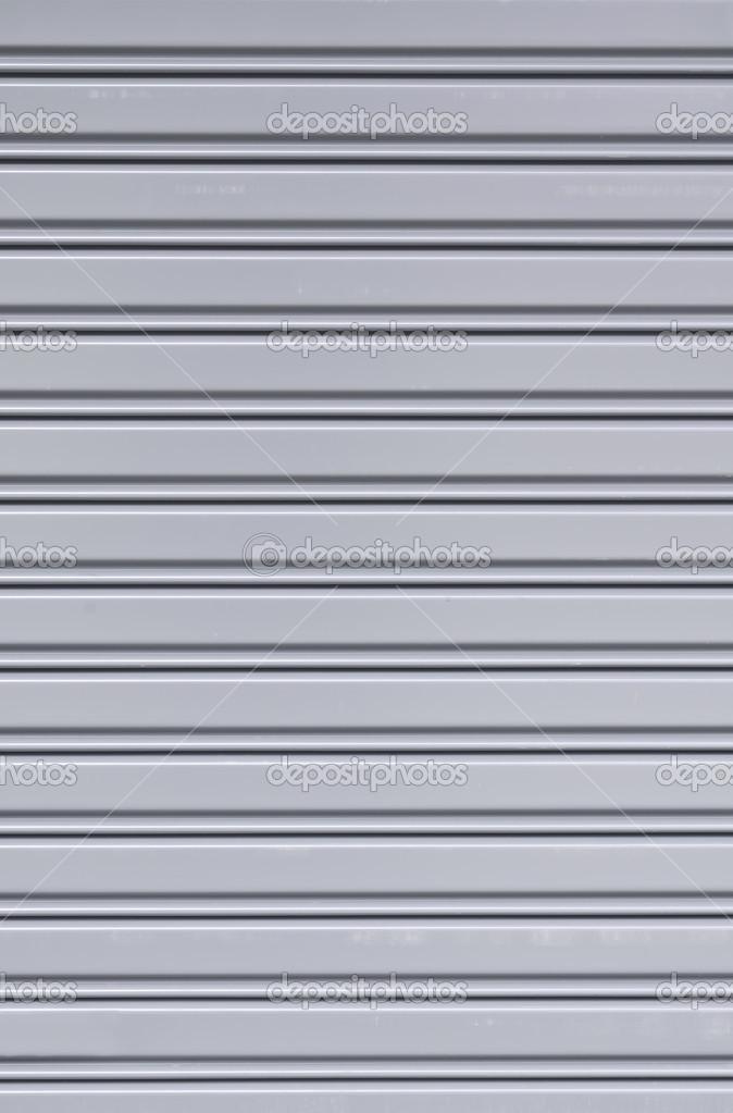 Textura de puerta de corredera chapa acanalada foto de - Chapa metalica ondulada ...