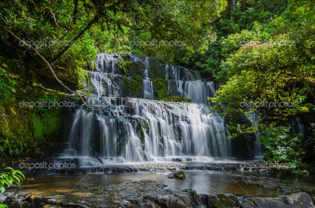 foto de Purakaunui falls les catlins Île du sud de la Nouvelle