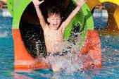 Fotografie Boy at aqua park