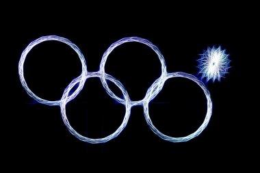 Olympics rings fail