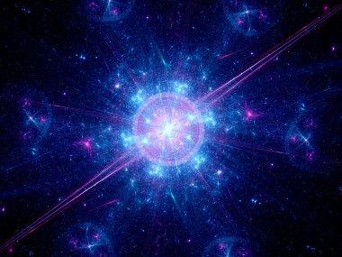 Big bang in space