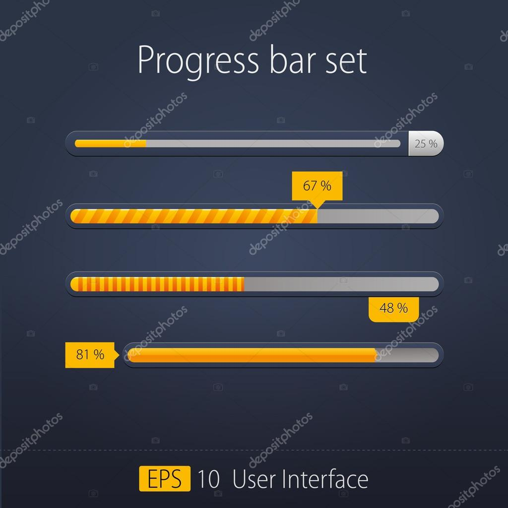 preloaders and progress loading bars