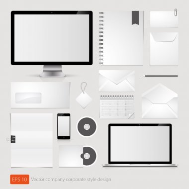 Vector company corporate style template