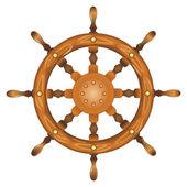 Loď námořnictva kolo izolované