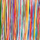Fotografie Art curved stripes colorful background