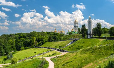 Kiev Pechersk Lavra Orthodox Monastery and Memorial to famine (h