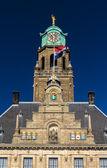 Fotografie Details des Rotterdamer Rathauses, Niederlande