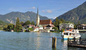 Fotografie Rottach-Egern, am Tegernsee, Bayern, Deutschland
