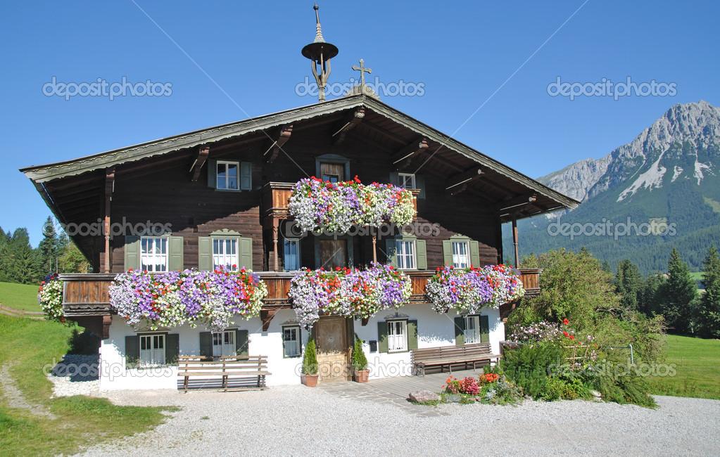 Ellmau Am Wilden Kaiser Tirol 214 Sterreich Stockfoto 169 Eurotravel 12495787