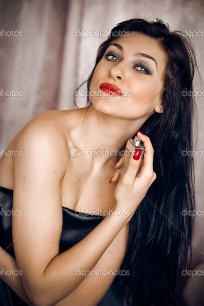bild av kvinnan sprutande flickor äter anal creampie