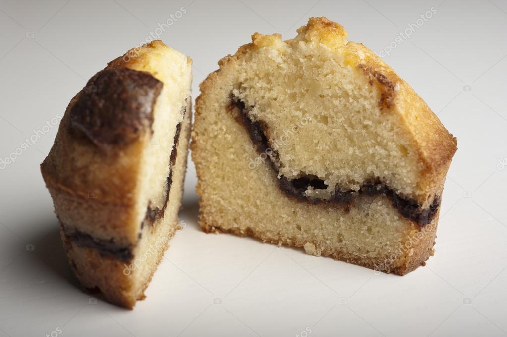Muffin with chocolate