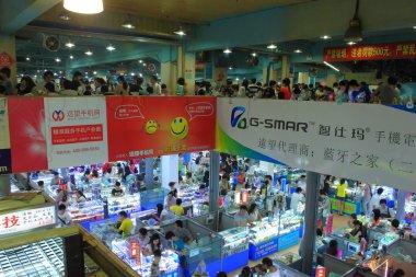 China's electronic mobile phone market
