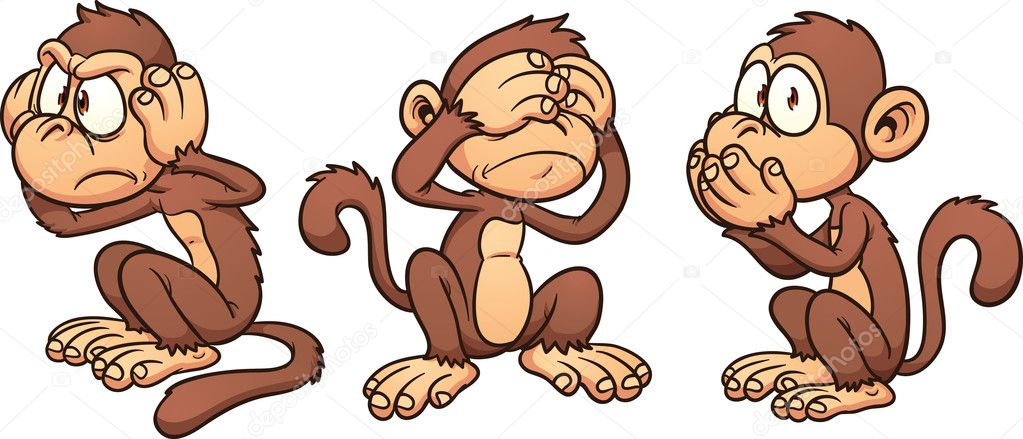 cartoon monkeys stock vector memoangeles 12028783