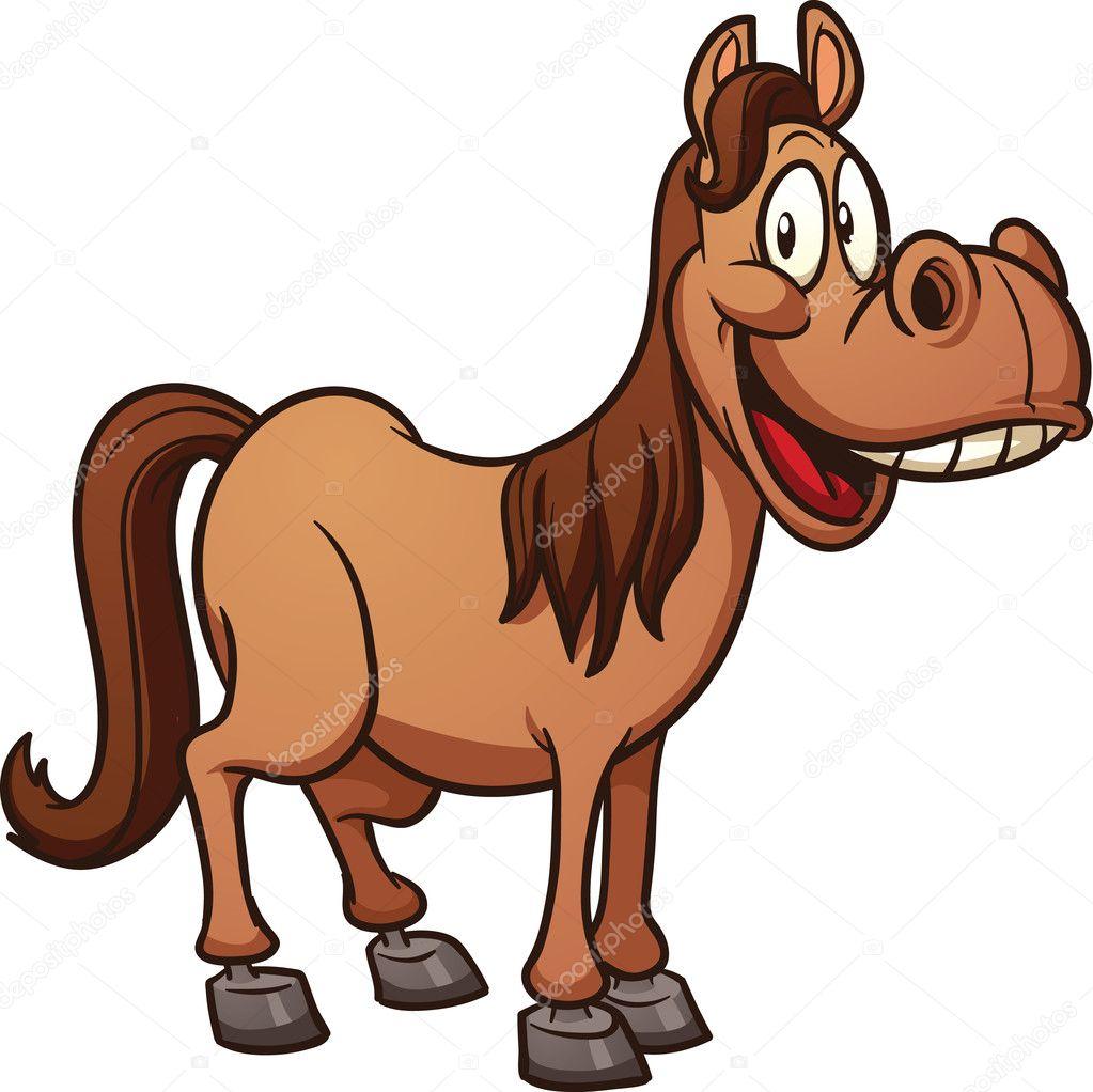Cartoon Horse Vector Image By C Memoangeles Vector Stock 13619846