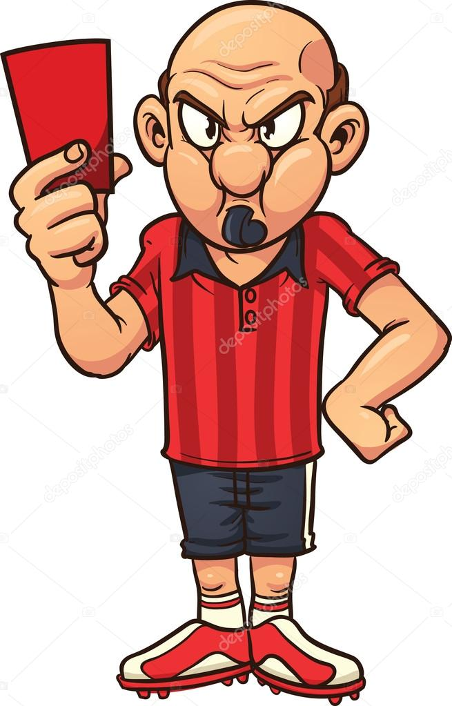 w u00fctend schiedsrichter stockvektor  u00a9 memoangeles 13711466 referee clip art black and white referee clipart free
