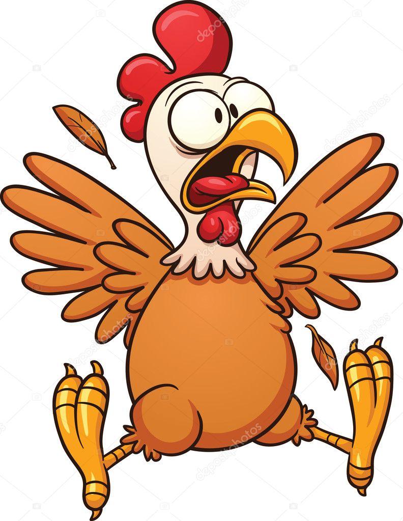 Cartoon Hen Clip Art Cartoon Chicken Stock Vector C Memoangeles 15554125