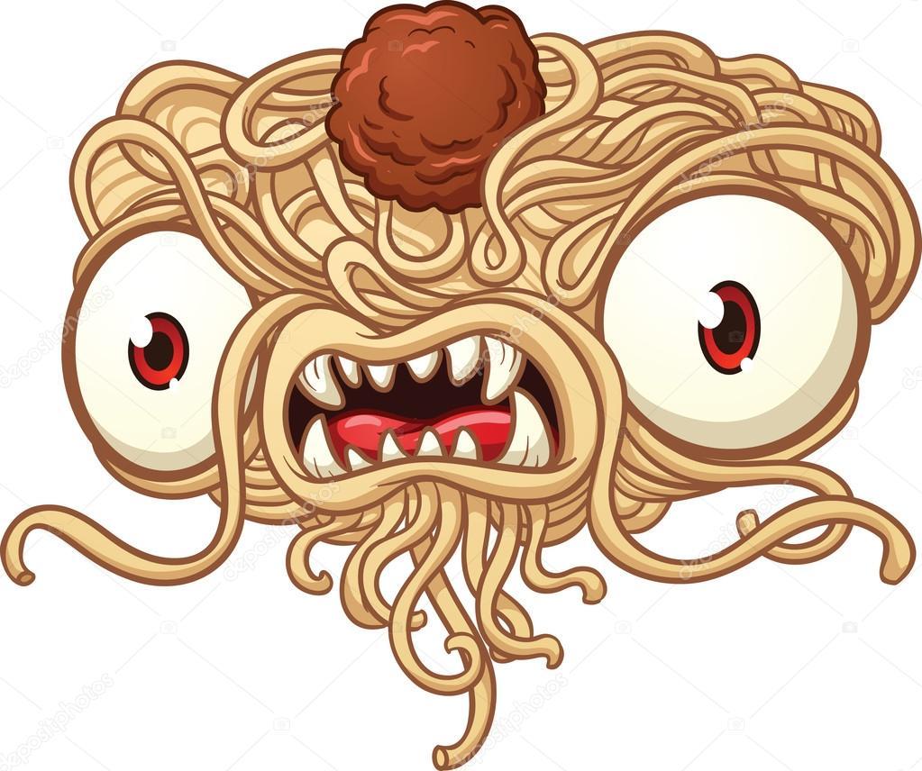 Spaghetti Monster Stock Vector 169 Memoangeles 16191805