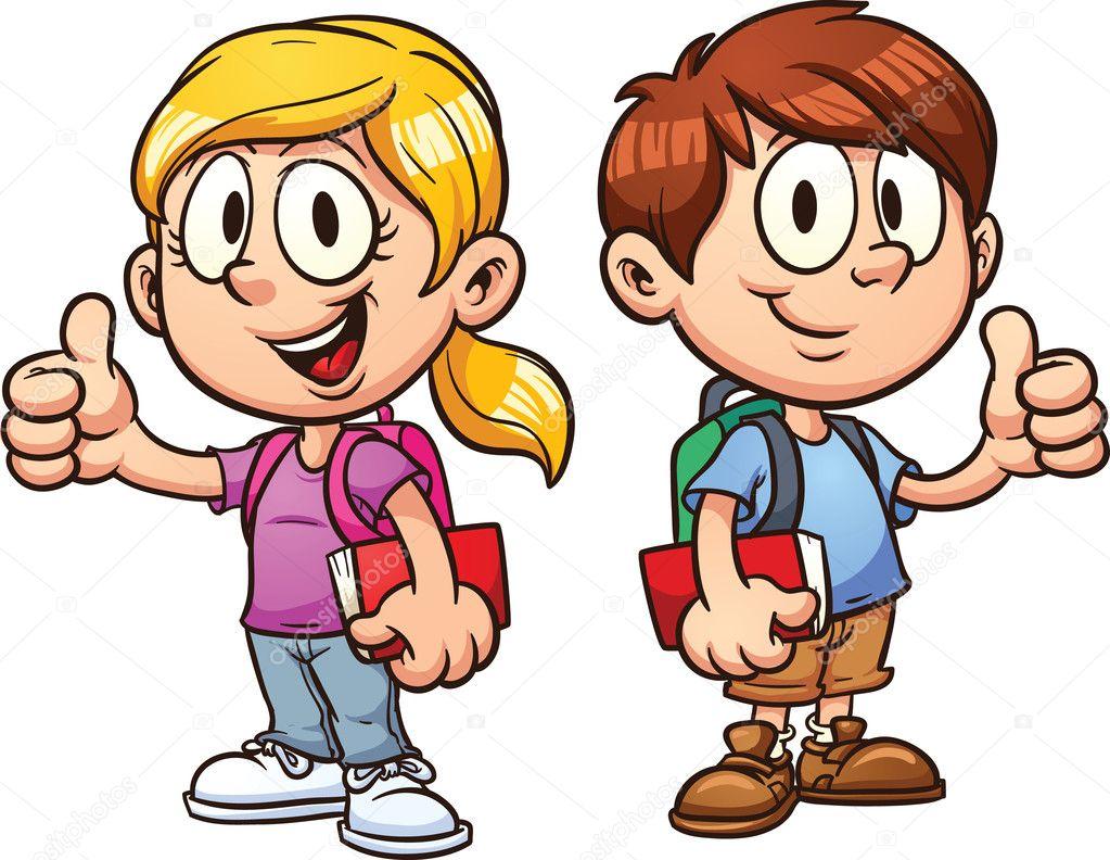 школа діти — Стоковий вектор memoangeles