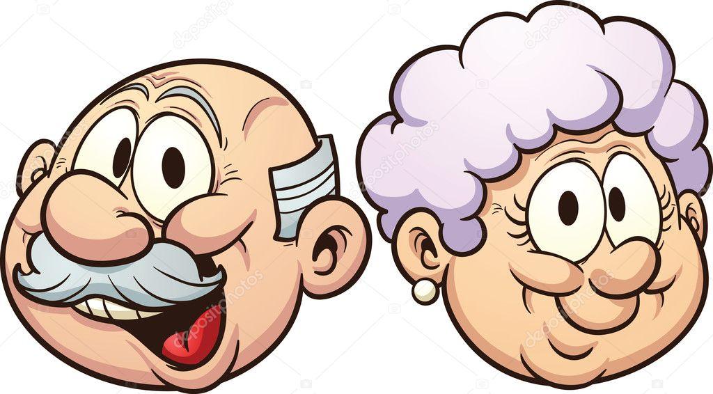 Abuelos De Dibujos Animados