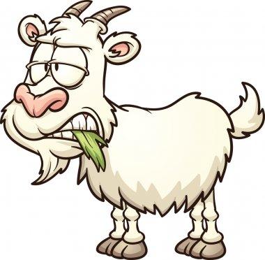 Cartoon goat