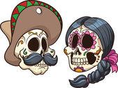 Photo Mexican skulls