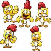 Fotografia cartone animato pollo