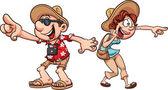 Turistické pár