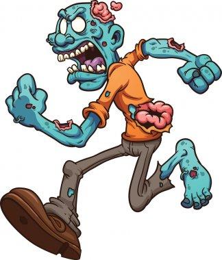 Running zombie