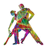 Fotografie abstrakt tanzen alle Paare