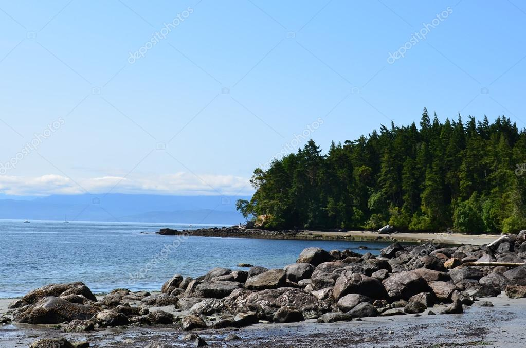 Vancouver Island East Sooke Park Shoreline