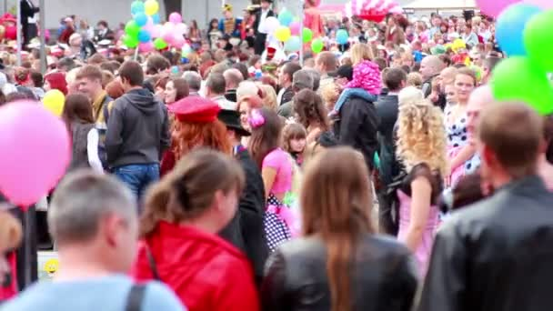 People on carnival