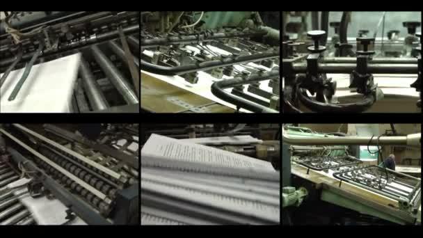 vyrábět papír tisk.