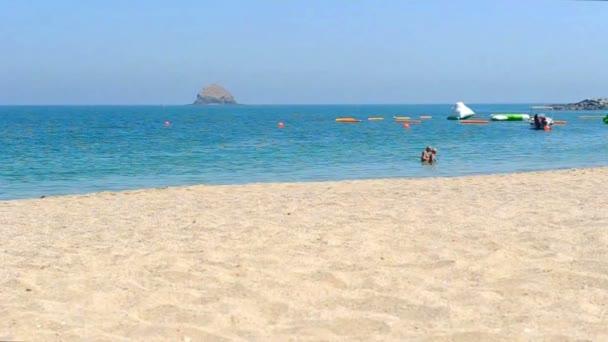 Idyllic  turquoise beach