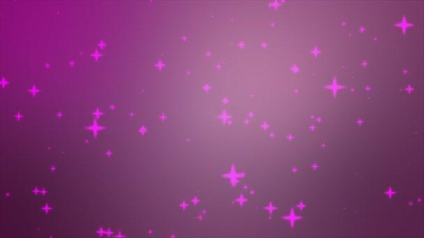Glitter stars silhouettes
