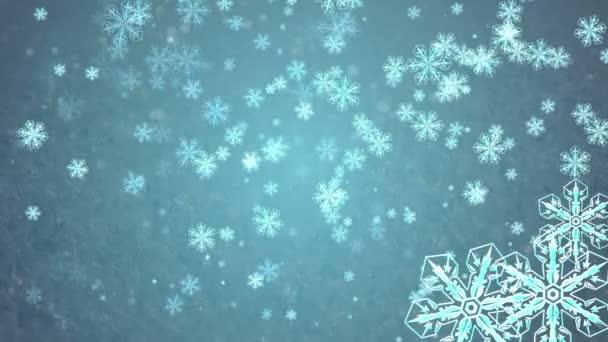 Schneeflocken im Urlaub