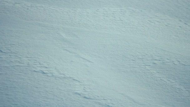 hó felszínén