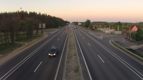 silniční provoz v dálnice