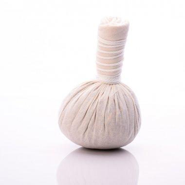 Herbal compress ball for spa treatment