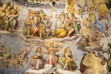 "Картина, постер, плакат, фотообои ""потолок живопись Джотто колокольня. Флоренция"", артикул 47283309"